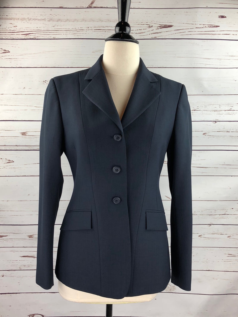 RJ Classics Washable Hunt Coat in Navy - Women's 2R