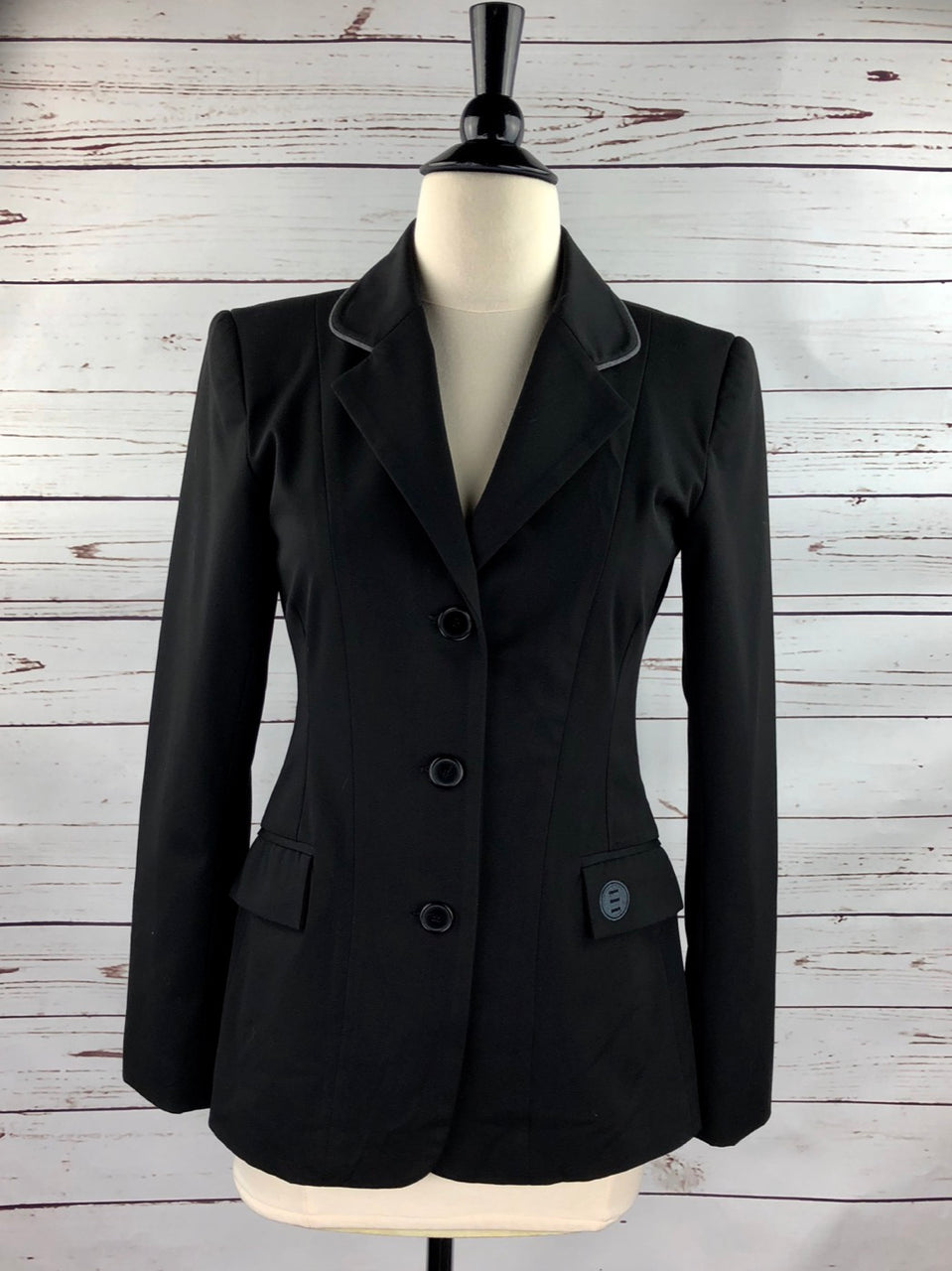 Renard et Cheval Hunt Coat in Black - Women's 8R (US 2R)