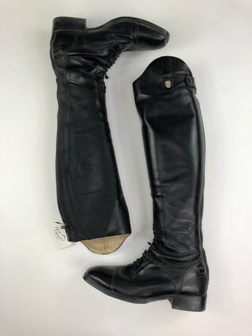 Ariat Monaco Field Boots in Black- Top View