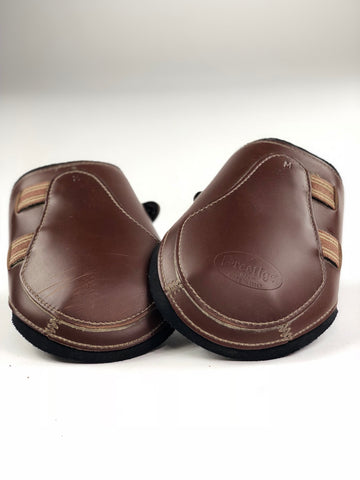 Prestige Leather Fetlock Boots in Tobacco - Outside View
