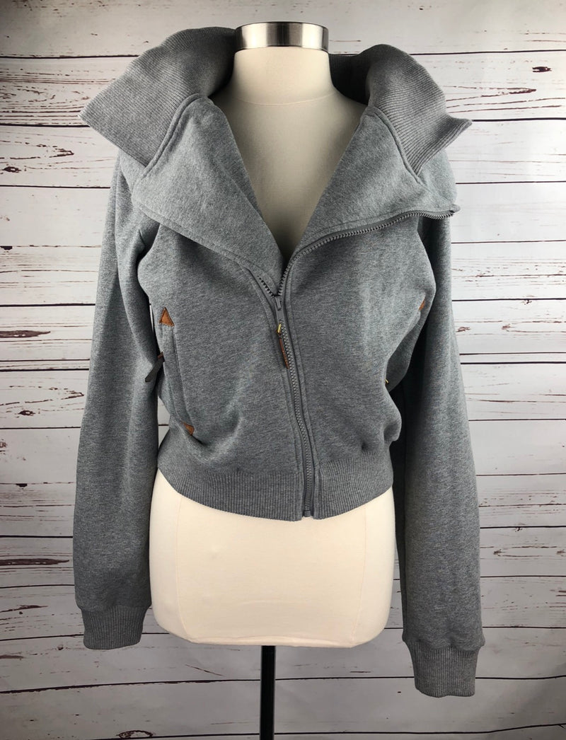 Spiced Equestrian Cuddle Hoodie III in Pepper - Women's Medium