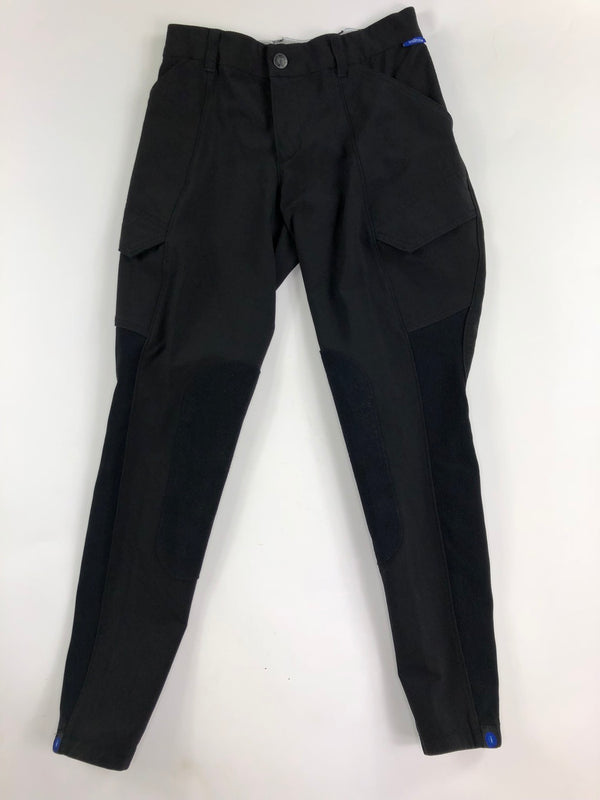 Irideon Cargo Breeches in Black - Women's 26