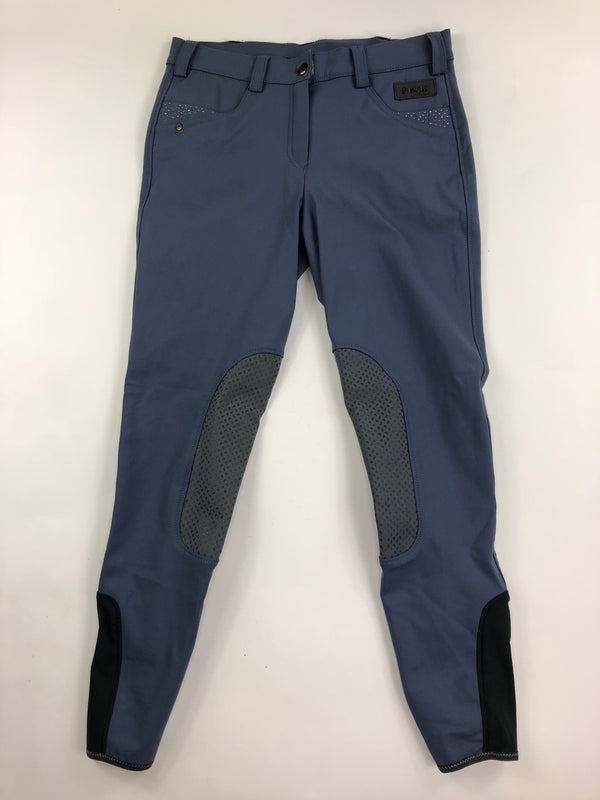 Pikeur Drissa Grip Breeches in Smoked Blue - Women's US 28R