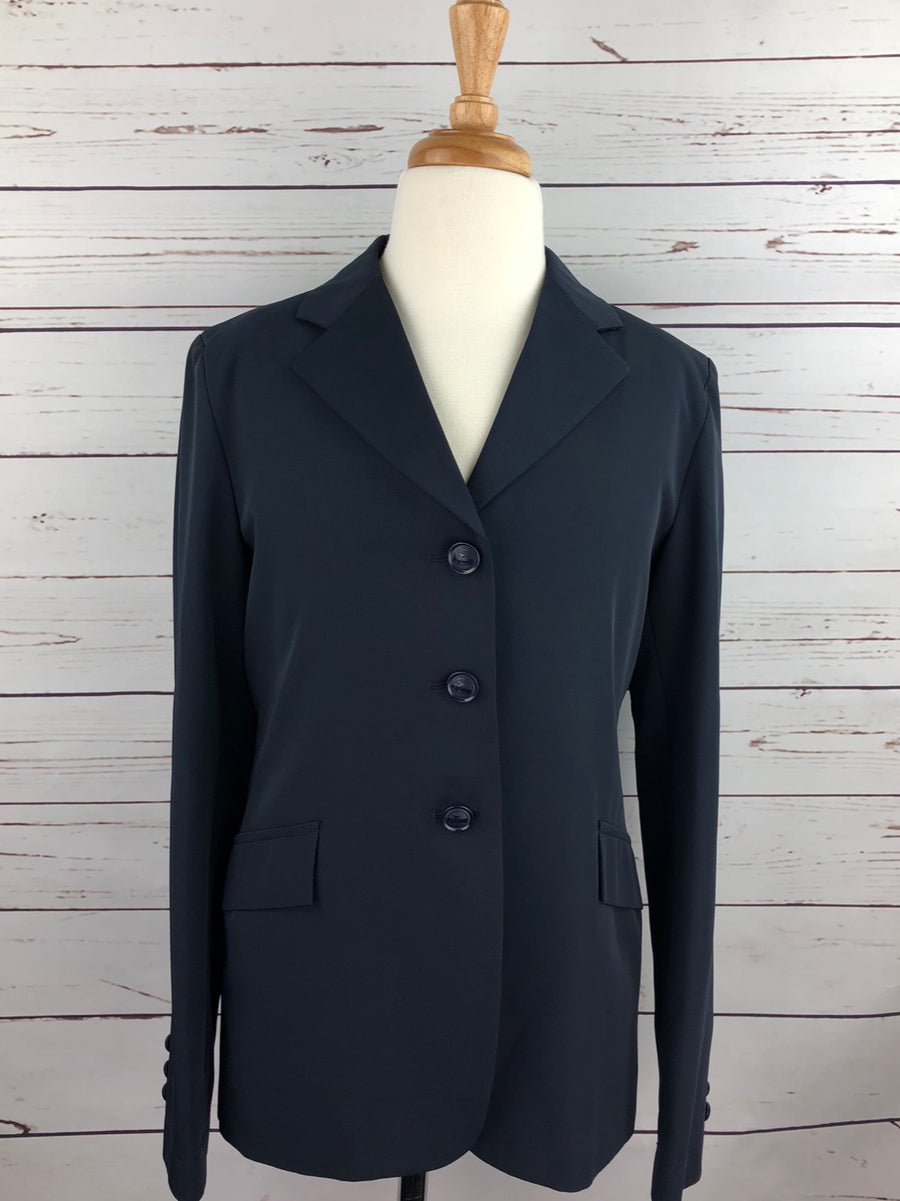 Grand Prix TechLite Hunt Coat in Navy -Front View
