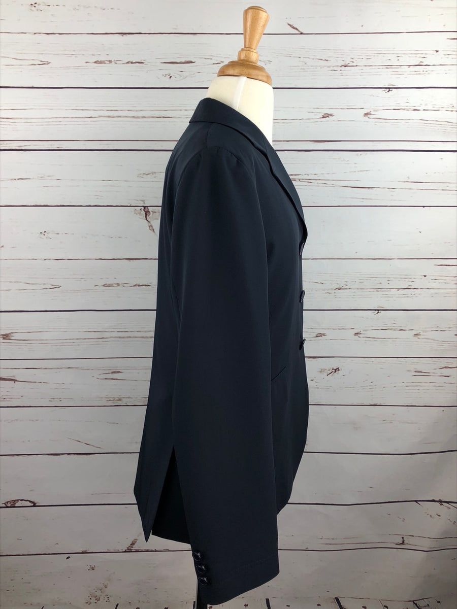 Grand Prix TechLite Hunt Coat in Navy - Right Side View