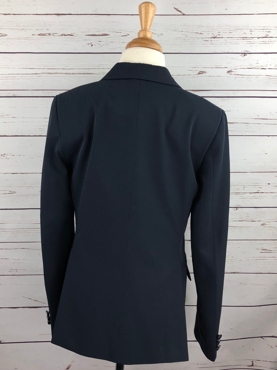 Grand Prix TechLite Hunt Coat in Navy - Back View