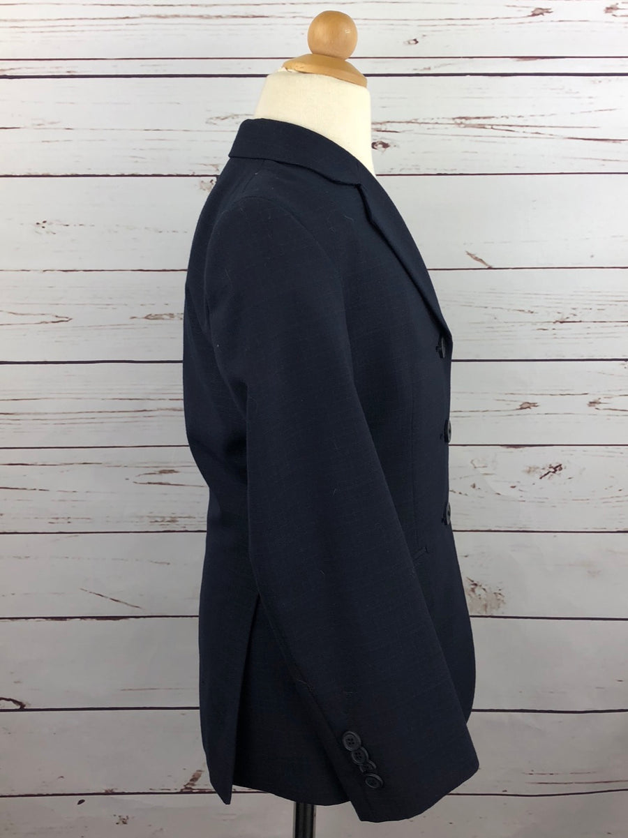 RJ Classics Essential Hunt Coat in Navy - Right Side View