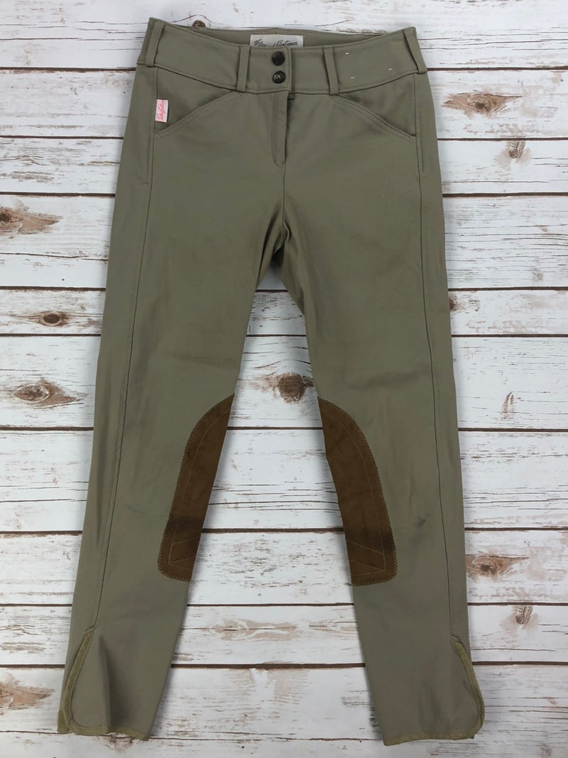 The Tailored Sportsman Trophy Hunter Breeches in Tan - Children's 14L