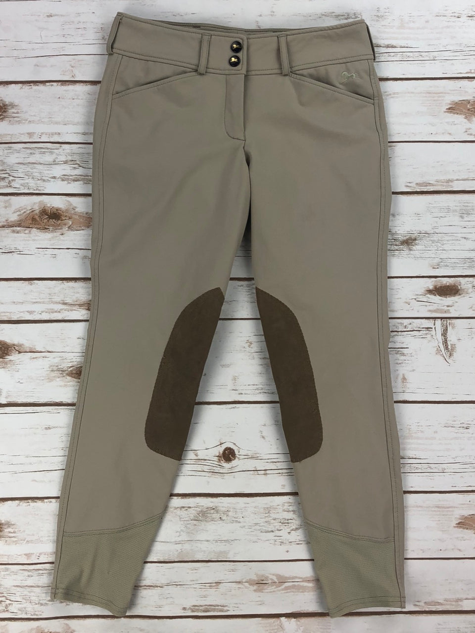 RJ Classics Harrisburg Breeches in Sand - Children's 14R