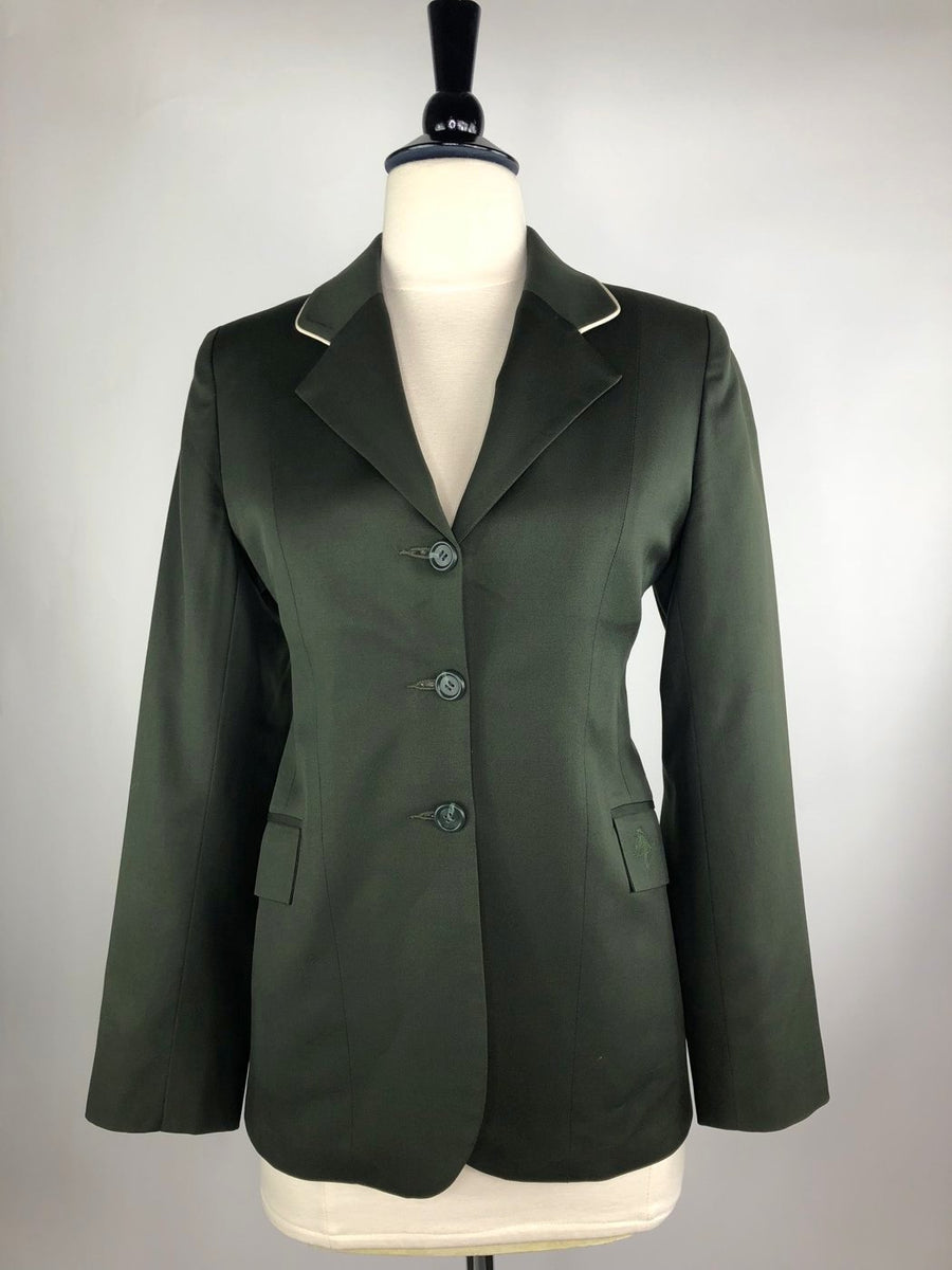 Allon Hunt Coat Hunter Green- Front View