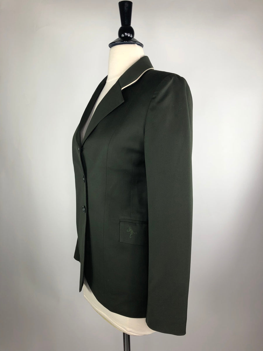 Allon Hunt Coat Hunter Green- Left Side View