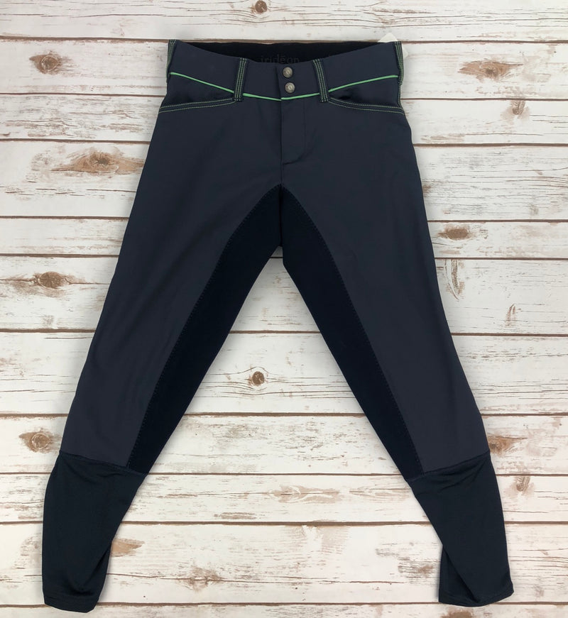 Irideon Zanzibar Full Seat Breeches in Navy/Apple - Women's 26