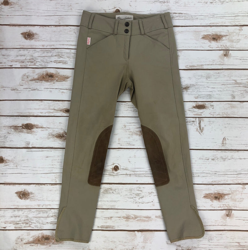 The Tailored Sportsman Trophy Hunter Breeches in Tan - Children's 12R