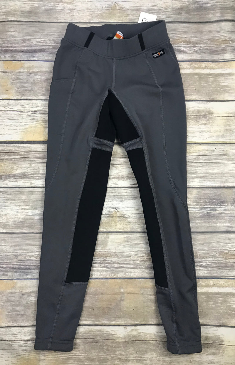 Kerrits Flex Tight II Full Seat Breeches in Charcoal - Women's XS