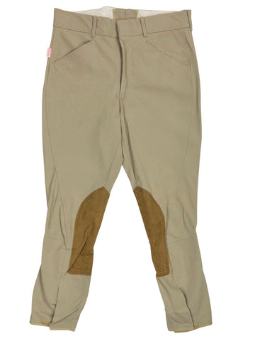 Tailored Sportsman Trophy Hunter Breech in Tan - Men's 32R | M