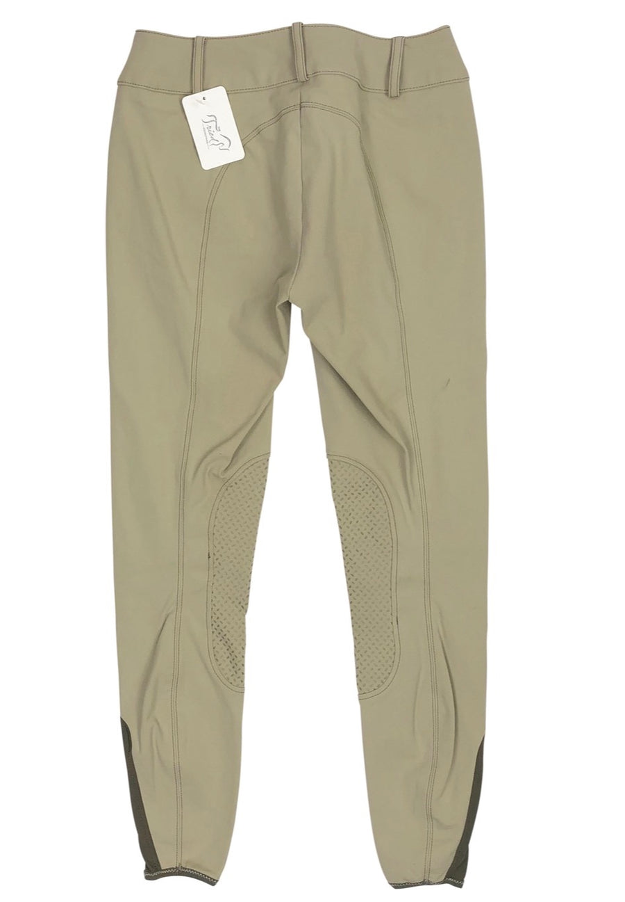 Pikeur Ciara Grip Breeches in Tan - Women's US 22 | XS