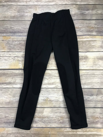 Irideon Wind Pro Breeches in Black - Front View