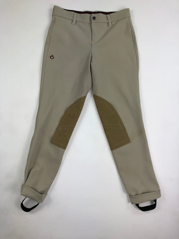 Cavalleria Toscana Jods in Tan - Children's 10
