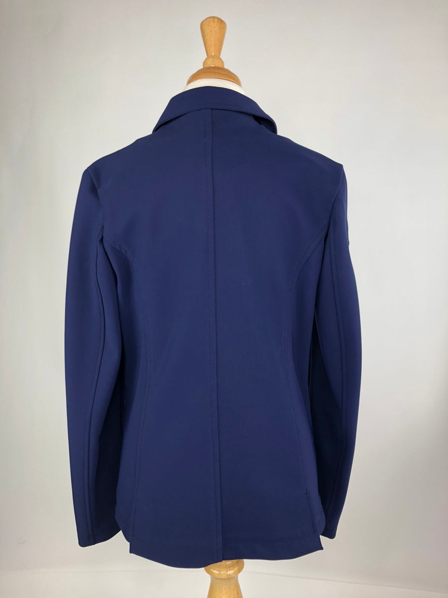 Cavalleria Toscana Competition Jacket in Blue -  Back View