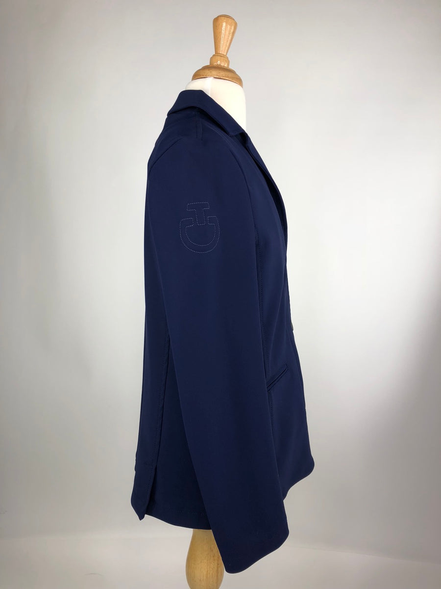 Cavalleria Toscana Competition Jacket in Blue -  Right Side View