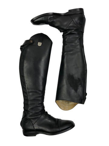 Tucci Galileo Tall Boot in Black - Women's 40F
