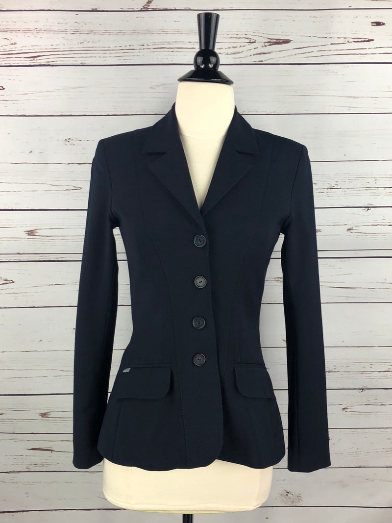 Winston Equestrian Classic Competition Coat in Navy - Women's 32T