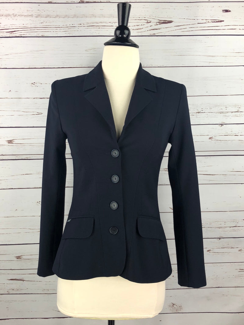 Winston Equestrian Classic Competition Coat in Navy - Women's 34T