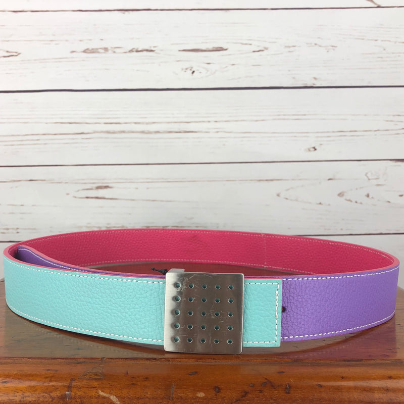 FITS Triple Threat Belt in Coral/Aqua/Lilac - Women's L/XL