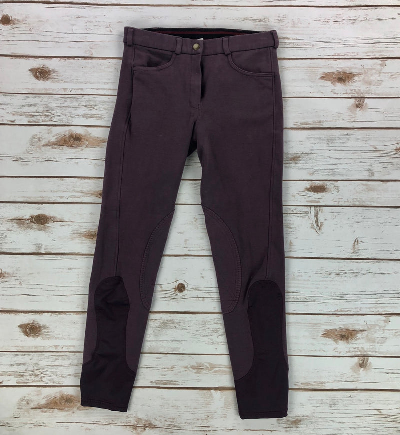 Riding Sport Knit Breeches in Plum - Women's 24R