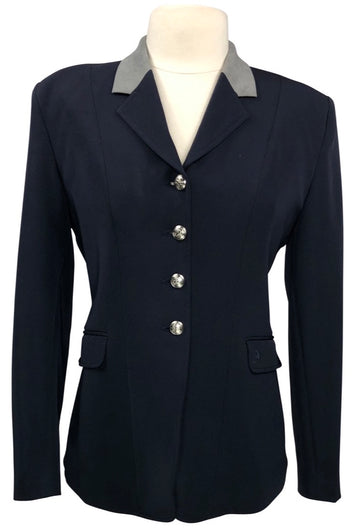 Ovation Performance Competition Coat in Navy/Grey Collar - Women's US 14R | L