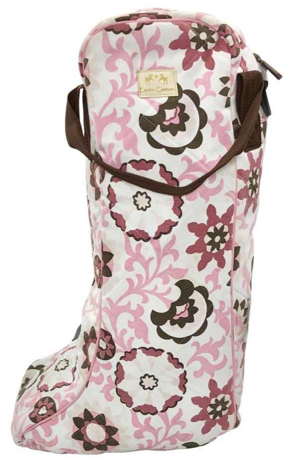 Equine Couture Ashley Boot Bag in Pink - One Size