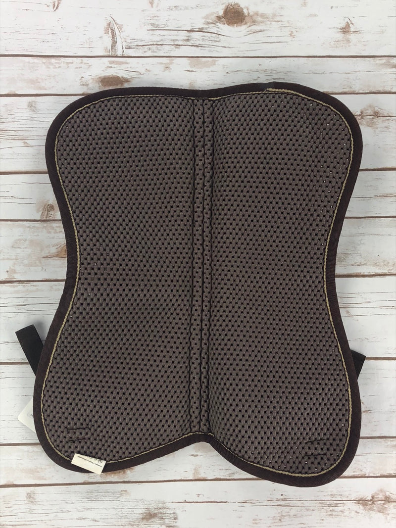 Norton Pro-Gel Air Back Half Pad in Brown - Full Size