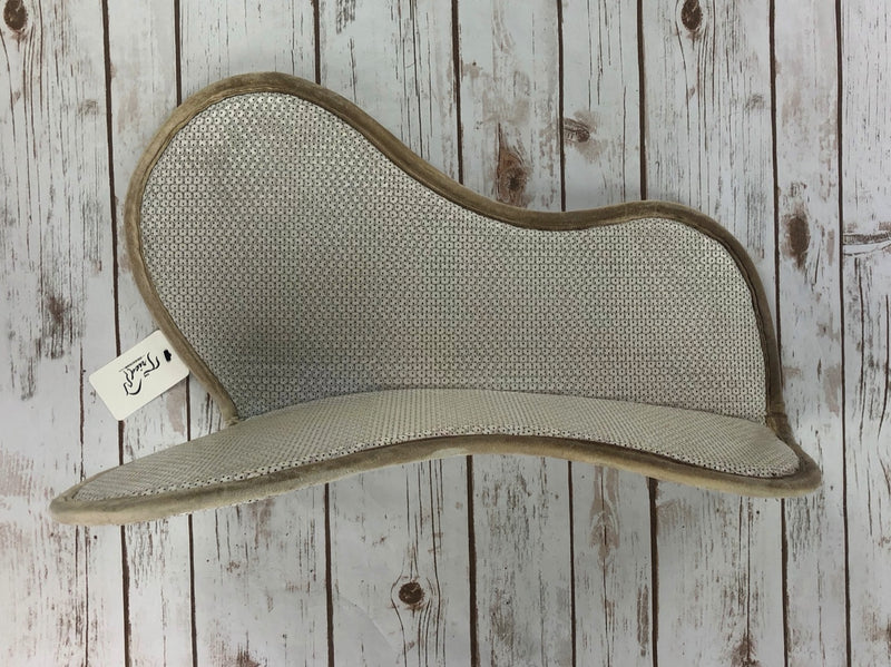 Supracor Cool Grip Hunter/Jumper Pad in White - Regular Size
