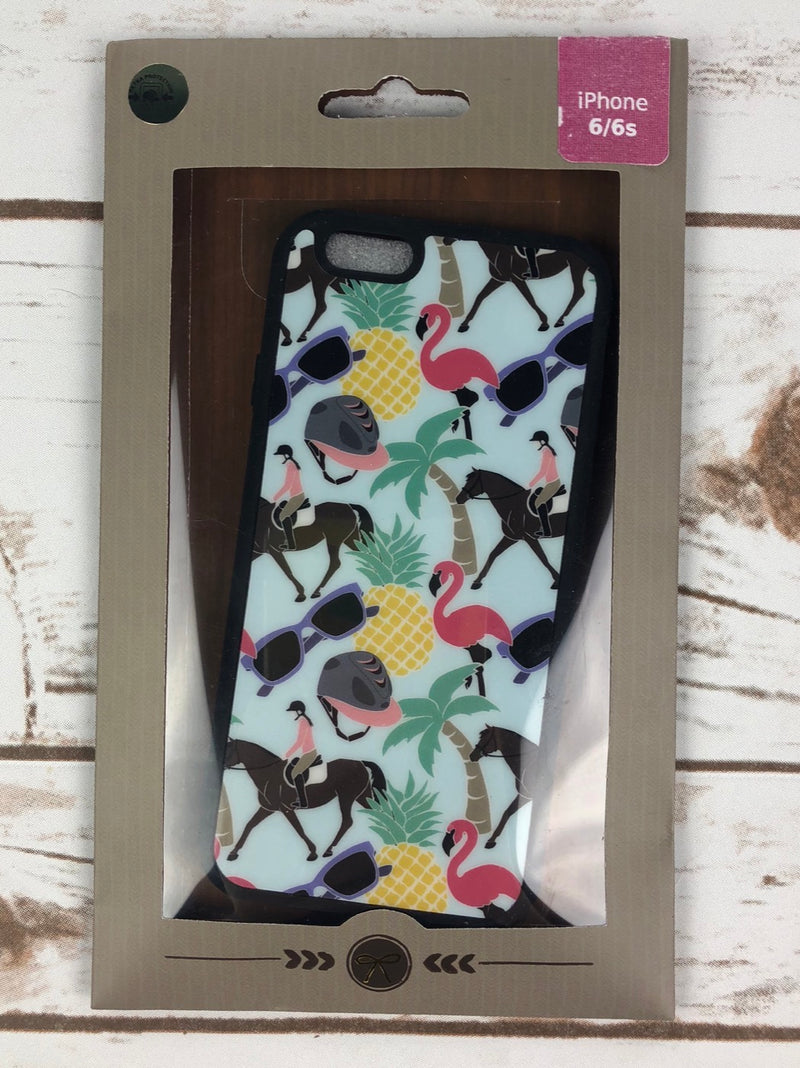 Spiced Equestrian Bumper iPhone Case in Summer Vibes - iPhone 6/6s