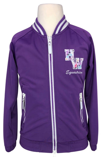 Horseware Bomber Jacket in Purple - Children's 9-10y | M