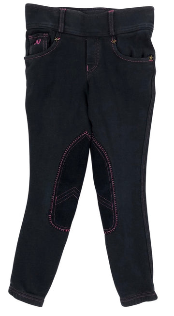 Ovation Horseshoe Jean Tights in Navy - Children's M