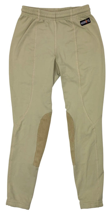 Kerrits Performance Riding Tight in Tan - Children's M