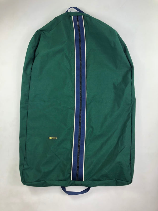 Wilsun Garment Bag in Hunter Green/Navy/White - One Size