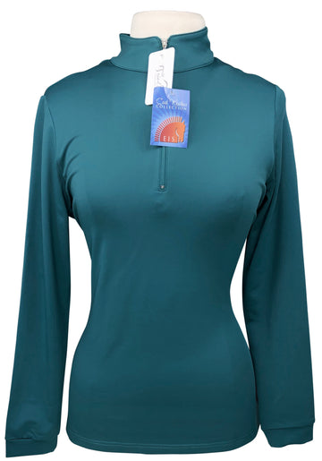 EIS Cool Weather Shirt in Teal - Women's L