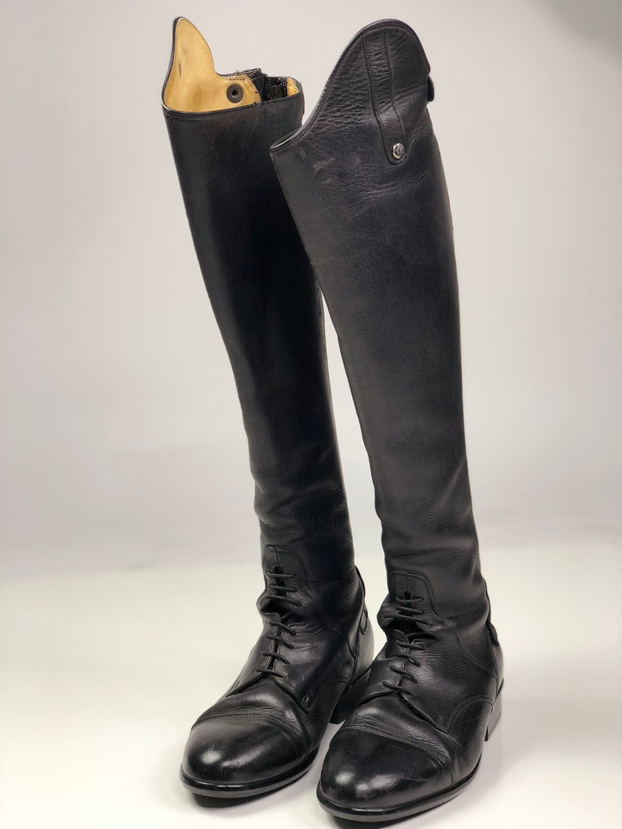 Sergio Grasso Imperia Field Boots in Black - Women's EU 39 XHE