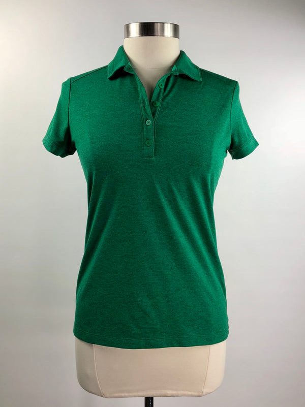 Nike Dri-Fit Polo in Green - Women's Medium