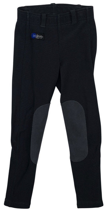 Irideon Issential Riding Tights in Black - Children's XS