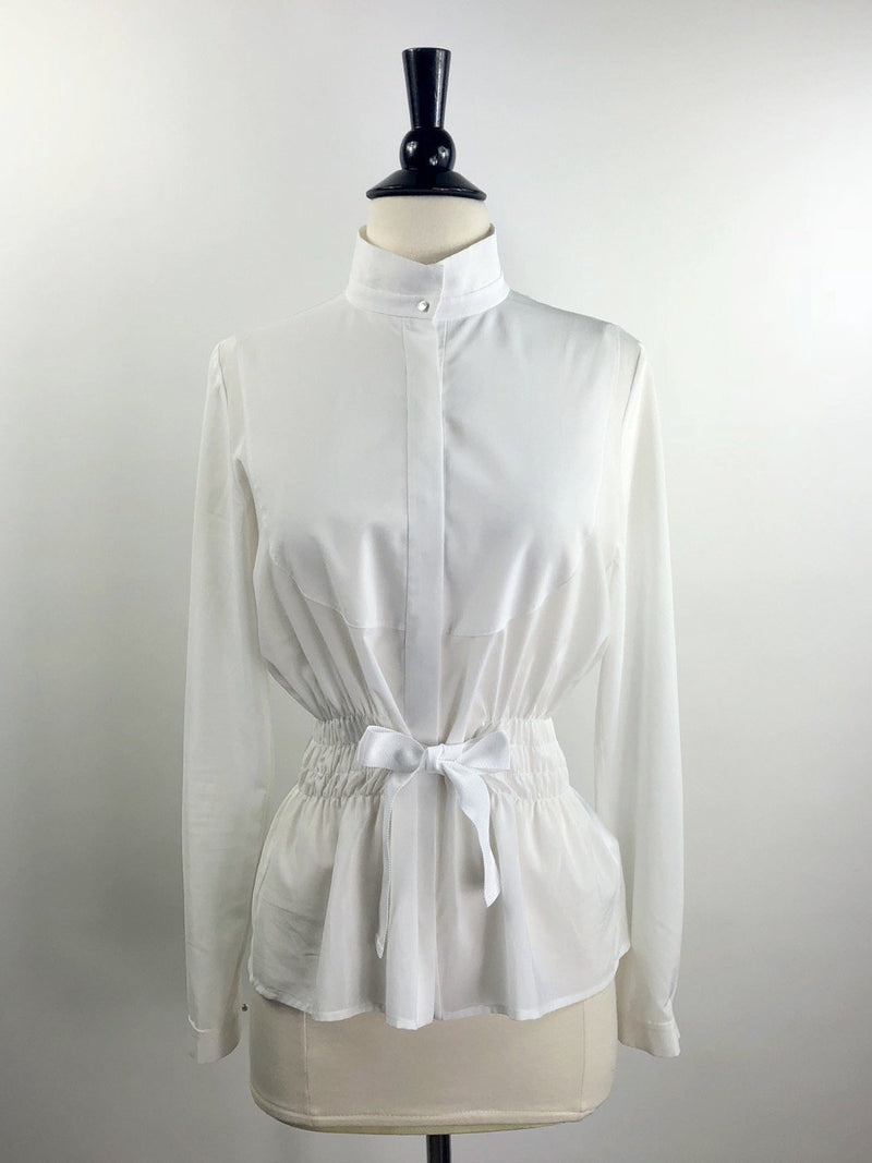Michael and Kenzie 1911 Camille II Shirt in White - Women's 34