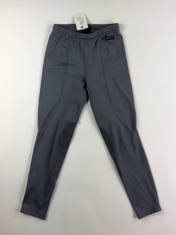 Kerrits Flow Rise Performance Riding Tight in Charcoal - Women's Large