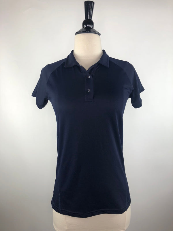 SmartPak Cool Tech Polo Shirt in Navy - Women's XS