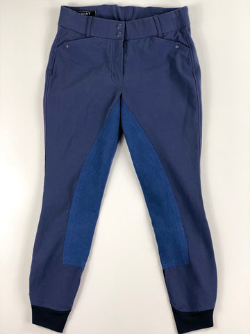 Ariat Heritage Elite Full Seat Breeches in Coastal Fjord- Front View