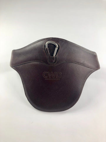 CWD Jumping Belly Guard Girth in Brown -  Front View