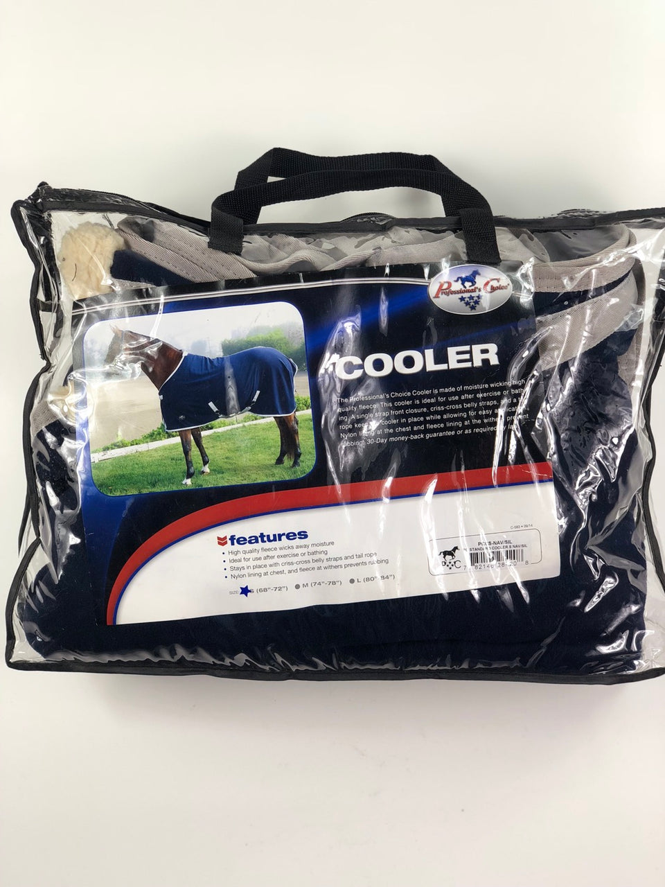 "Professional's Choice Cooler in Navy/Silver - S (68""-72"")"