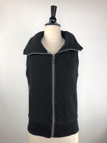 Horseware Platinum Serena Fleece Vest in Black - Women's XS
