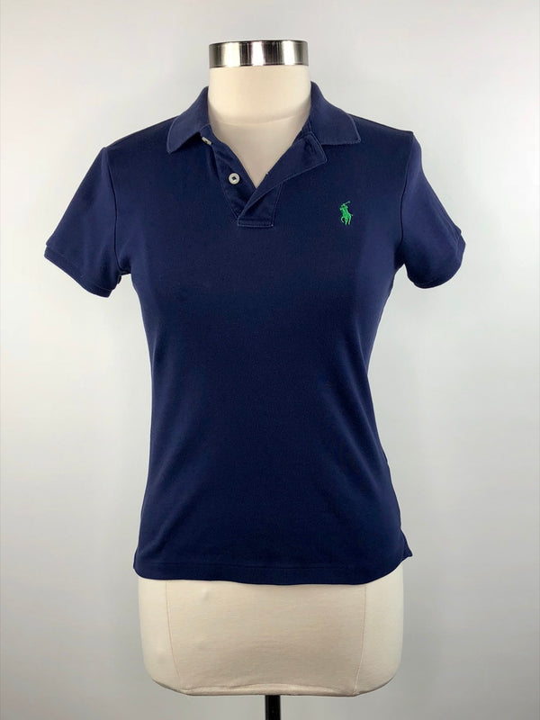 Ralph Lauren Sport Slim Fit Polo in Navy - Women's Medium